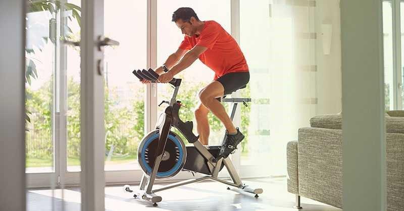 دوچرخه ثابت و لاغری شکم