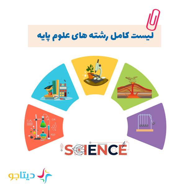 معرفی لیست کامل رشته های علوم پایه از دیتاجو