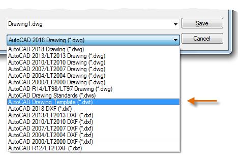 فایل تمپلیت طراحی خود را ایجاد کنید