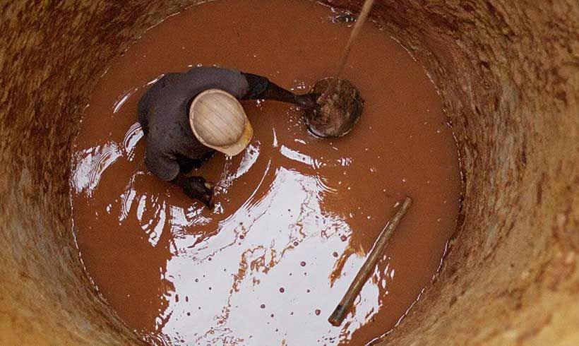 لایروبی چاه