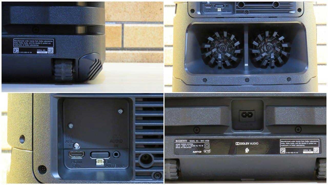 طراحی اسپیکر سونی V43