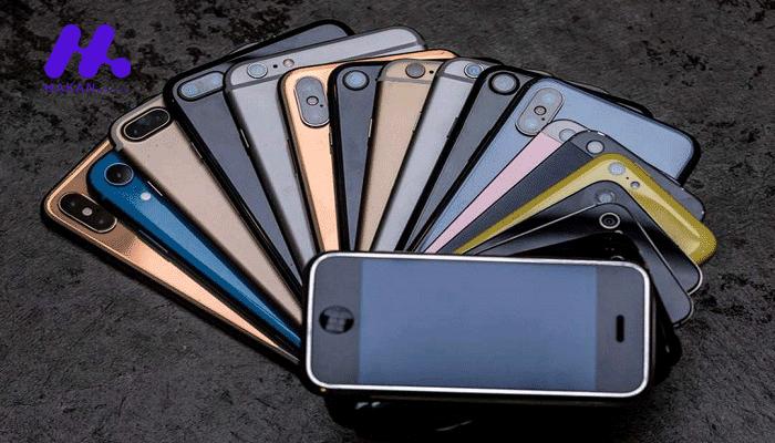 آیفون های مشهور هاکان موبایل